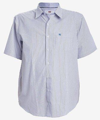 Camisa Listrada Manga Curta