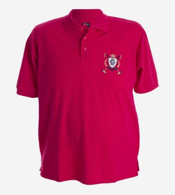 POLO PIQUET BORDADA PINK