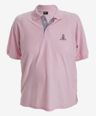 POLO BORDADA ROSA