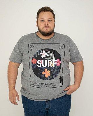 CAMISETA BÁSICA SURF MESCLA
