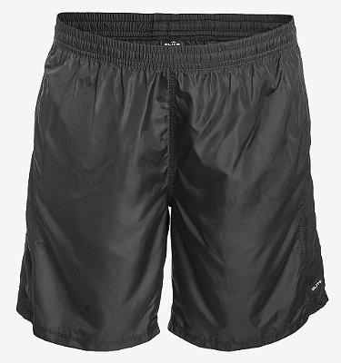 Shorts Tactel Preto Liso
