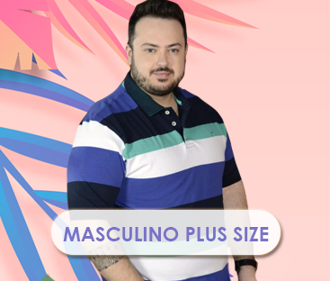 Masculino Plus Size
