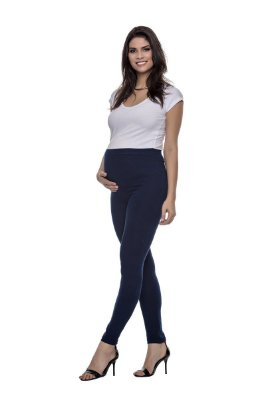 Calça Gestante Legging Cotton