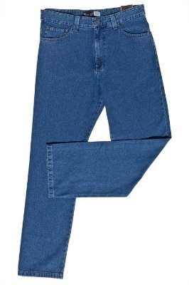 Calça Masculina Plus Size Jeans sem Elastano Tradicional