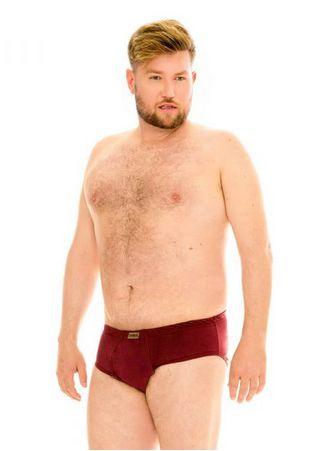 Cueca Plus Size Slip Com Abertura - Kit com 3 Peças