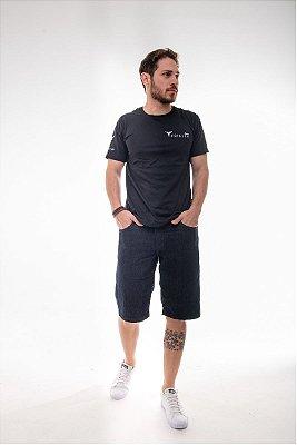 Bermuda Masculina Plus Size Jeans com Elastano