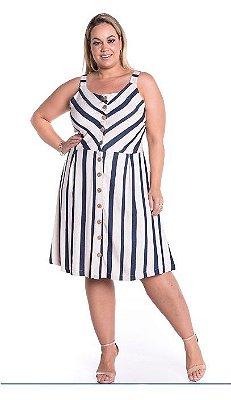 Vestido Plus Size em Linho