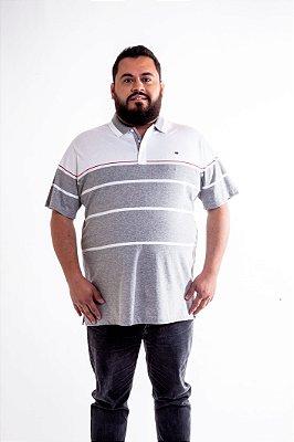 Camiseta Masculina Plus Size Polo TonSurton