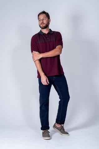 Calça Masculina Plus Size Jeans com Elastano