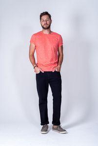 Calça Masculina Plus Size Jeans Preto sem Elastano Tradicional