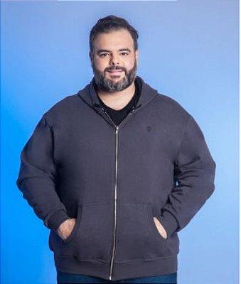 Blusa Masculino Plus Size Moletom Com Capuz Burg - Cores Diversas