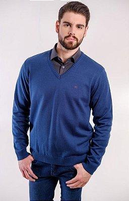 Suéter Masculino Plus Size Malha