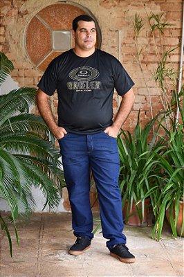 Calça Masculina Plus Size Jeans Slim Fit