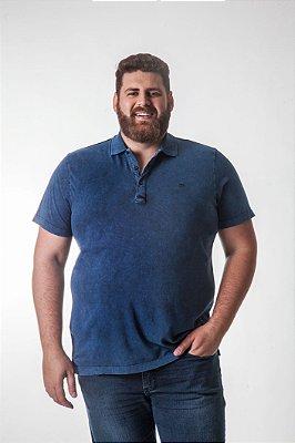 Camiseta Masculina Plus Size Polo Estonada