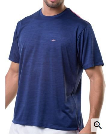 Camiseta Masculina Plus Size Gola Careca Lisa Dryfit