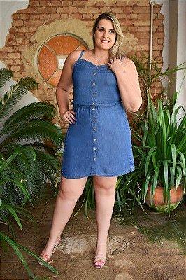 Vestido Plus Size Tencel