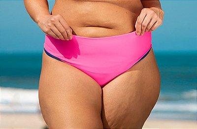Biquini Plus Size Calcinha Fio Dupla Face Lisa Avulso
