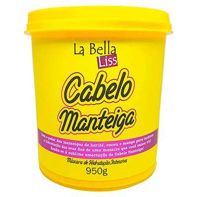 La Bella Liss  Cabelo Manteiga Máscara de Hidratação Profunda 950G