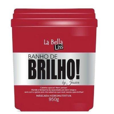 La bella liss Máscara Hidronutritiva Banho de Brilho 950 g
