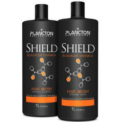 Plancton - Escova Shield - Blindagem Dinâmica - 1 Litro
