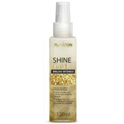 Plancton - Shine Gold Spray de Brilho Dourado Intenso 120 ML