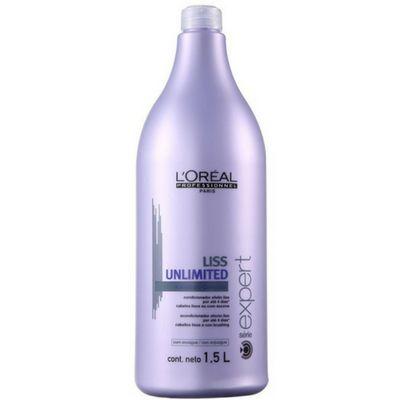 L'Oreal Liss Unlimited Condicionador 1,5 Litros
