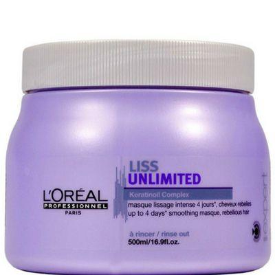 L'Oréal - Liss Unlimited Máscara  Tratamento Intensivo 500G