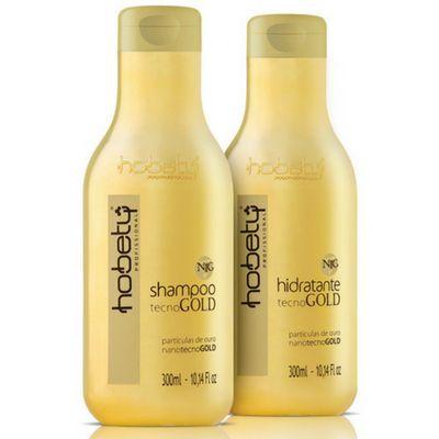 Hobety Tecnogold Shampoo hidratante 300ml