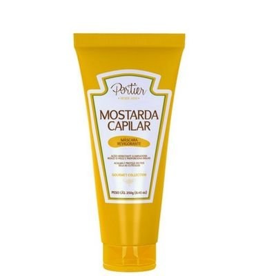 Portier Máscara Gourmet Collection Mostarda Capilar Revigorante 250G