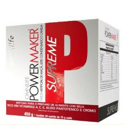 Power Maker Supreme Omnilife 450g Sachê 30
