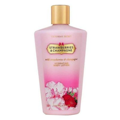 Creme Hidratante Victorias Secret Strawberries Champagne 250ml