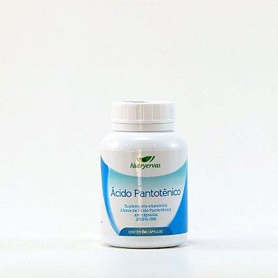Ácido Pantotênico - 60 cápsulas