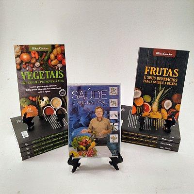 Kit DVD + livros