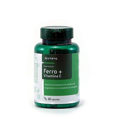 FERRO + VITAMINA C - 60 CAPS