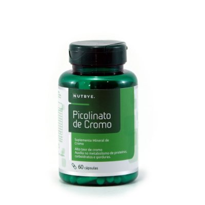 Picolinato de Cromo - 60 cápsulas - 240mg