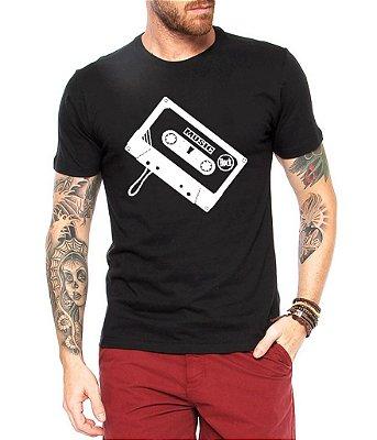 Camiseta Masculina Toca Fita Nerd Geek