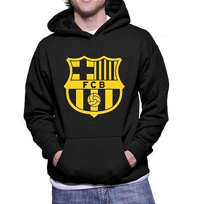 f8d6a3bc1 Moletom Masculino Barcelona Futebol Clube - Moletons Personalizados Blusa    Casacos Baratos   Blusão   Jaqueta