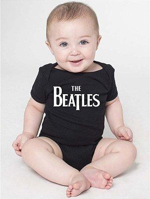 Body Bebê Banda Rock The Beatles Divertidos - Roupinhas Macacão Infantil Bodies Roupa Manga Curta Menino Menina Personalizados
