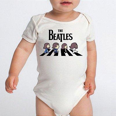 Body Bebê Bandas de Rock The Beatles- Roupinhas Macacão Infantil Bodies Roupa Manga Curta Menino Menina Personalizados