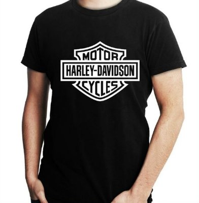 Camiseta Masculina Motor Harley Davidson  - Personalizadas/ Customizadas/ Estampadas/ Camiseteria/ Estamparia/ Estampar/ Personalizar/ Customizar/ Criar/ Camisa Blusas Baratas Modelos Legais Loja Online