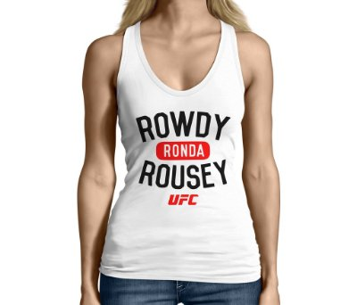 Camiseta Regata Feminina Ronda Rowdy Rousey Ufc Mma - Personalizadas/ Customizadas/ Camiseteria/ Camisa T-shirts Baratas Modelos Legais Loja Online