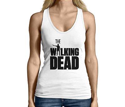 Camiseta Regata Feminina The Walking Dead Séries e Seriados - Personalizadas/ Customizadas/ Camiseteria/ Camisa T-shirts Baratas Modelos Legais Loja Online