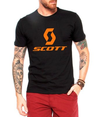 Camiseta Masculina Scott No Shortcuts - Ciclismo Ciclo Mountain Bike Cicloturismo Urbano Bicicleta Ciclocross