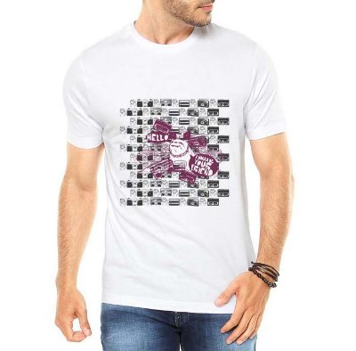 Camiseta Masculina Bulldog Urbano - Personalizadas/ Customizadas/ Estampadas/ Camiseteria/ Estamparia/ Estampar/ Personalizar/ Customizar/ Criar/ Camisa Blusas Baratas Modelos Legais Loja Online