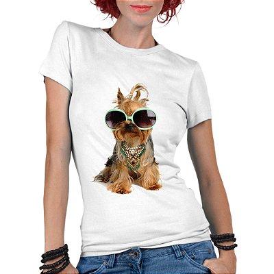 Camiseta Feminina Pet Lover Divertidos - Personalizadas/ Customizadas/  Personalizadas/ Customizadas/ Estampadas/ Camiseteria/ Estamparia/ Estampar/ Personalizar/ Customizar/ Criar/ Camisa Blusas Baratas Modelos Legais Loja Online