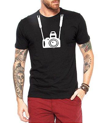 Camiseta Masculina Fotografia