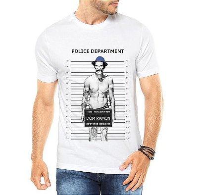 Camiseta Masculina  Seu Madruga Bandido - Personalizadas/ Customizadas/ Estampadas/ Camiseteria/ Estamparia/ Estampar/ Personalizar/ Customizar/ Criar/ Camisa Blusas Baratas Modelos Legais Loja Online