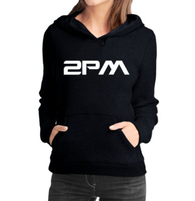 Moletom Feminino Kpop Banda 2PM K-pop - Moletons Blusa de Frio Casacos Baratos Blusão Canguru Loja Online