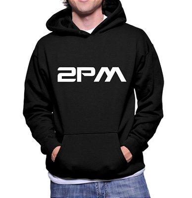 Moletom Masculino Kpop Banda 2PM K-pop - Moletons Blusa de Frio Casacos Baratos Blusão Canguru Loja Online