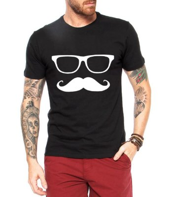 Camiseta Masculina Mustache
